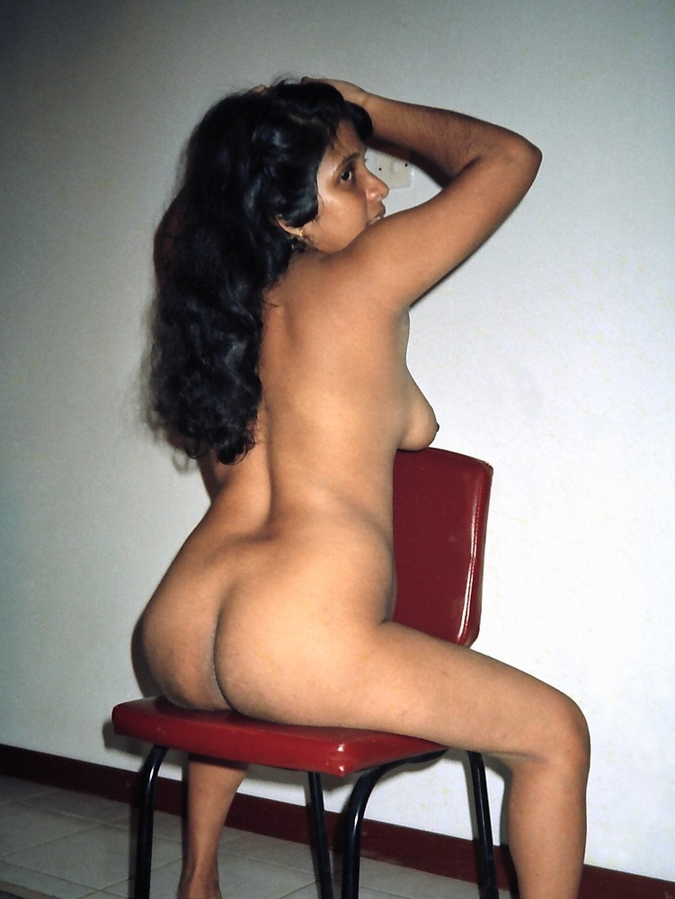 On nude chair sitting girls